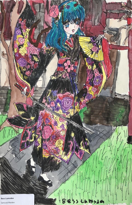 Samurai Maiden