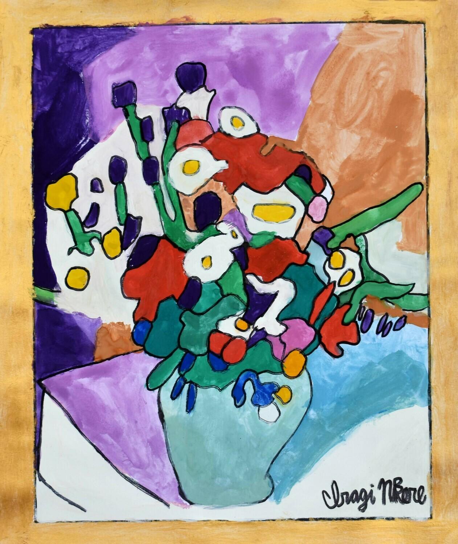 Still Life: Flowers in Vase