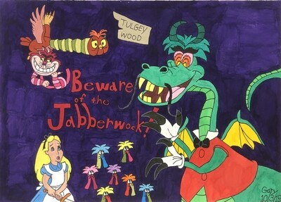Alice and the Jabberwocky