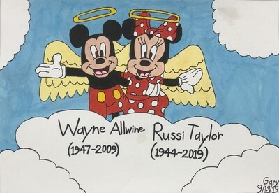 A Tribute to Wayne Allwine and Russi Taylor