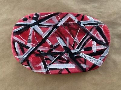 Eddie Van Halen Tribute Art Mask