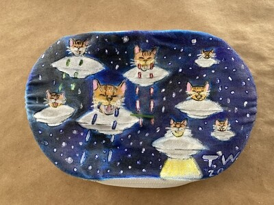 Laser Cats from Outer Space! Art Mask