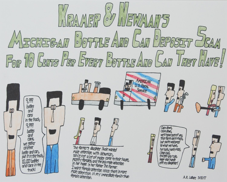 Kramer & Newman's Michigan Bottle and Can Deposit Scam