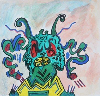 A Mean Monster - A Random Creature