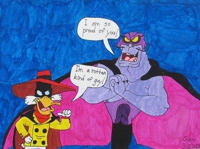 Megaduck Meets the Evil Manta