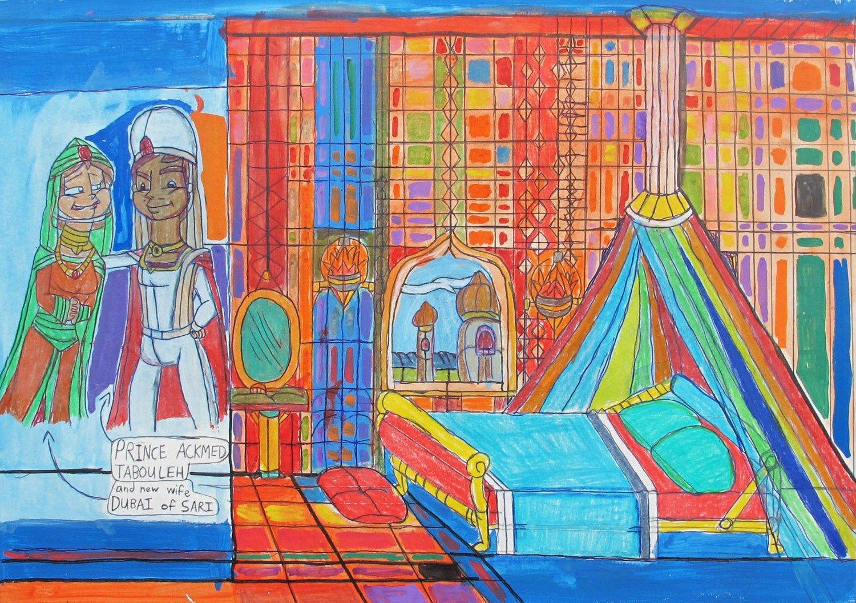 Prince Ackmed's Quarters