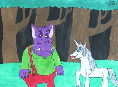 The Ogre and the Unicorn