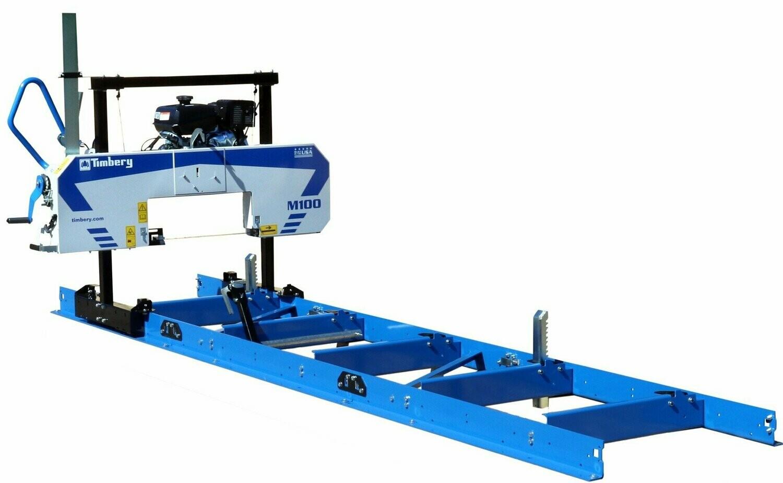 M100 Portable Sawmill Timbery Sawmills