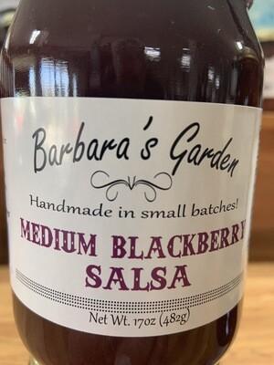 Barbara's Garden Medium Blackberry Salsa