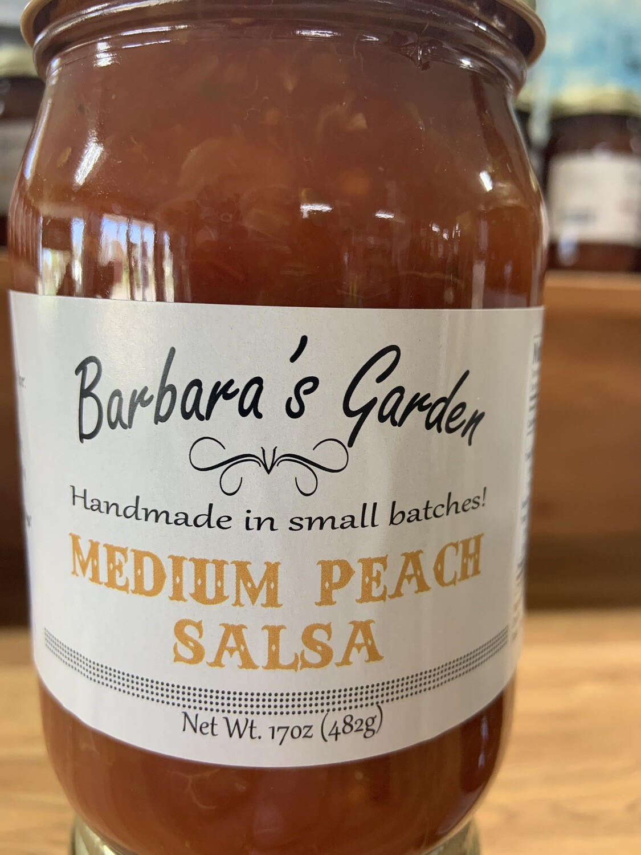Barbara's Garden Medium Peach Salsa