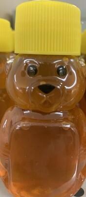 Local Honey 2oz Bear