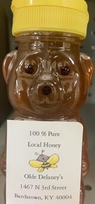 Local Honey 8oz Bear