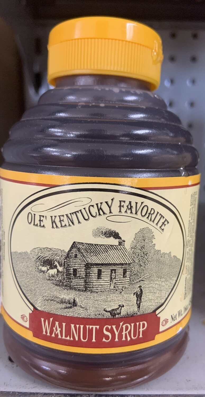 Old Kentucky Favorite Walnut Syrup 16 oz