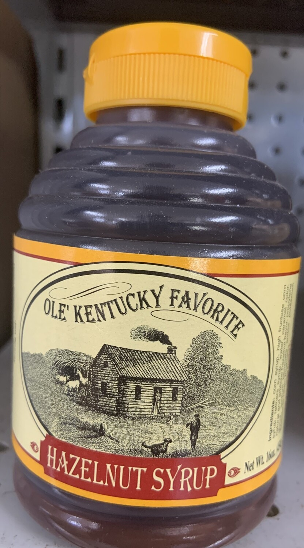 Old Kentucky Favorite Hazlenut Syrup 16oz
