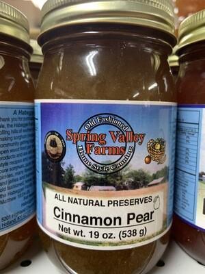 Spring Valley Cinnamon Pear Preserves 19oz