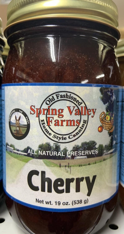 Spring Valley Farms Cherry Preserves 19oz