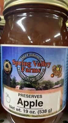 Spring Valley Farms Apple Preserves 19oz