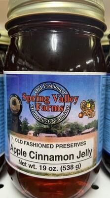 Spring Valley Farms Apple Cinnamon Jelly Preserves 19oz