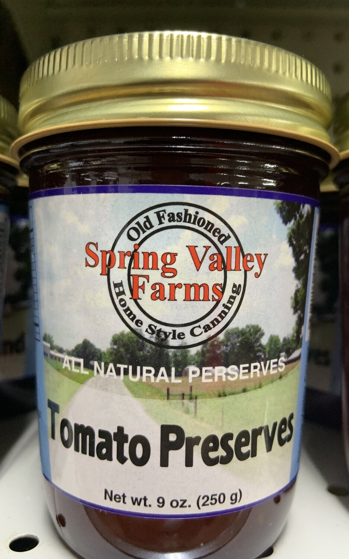 Spring Valley Farms Tomato Preserves 9oz