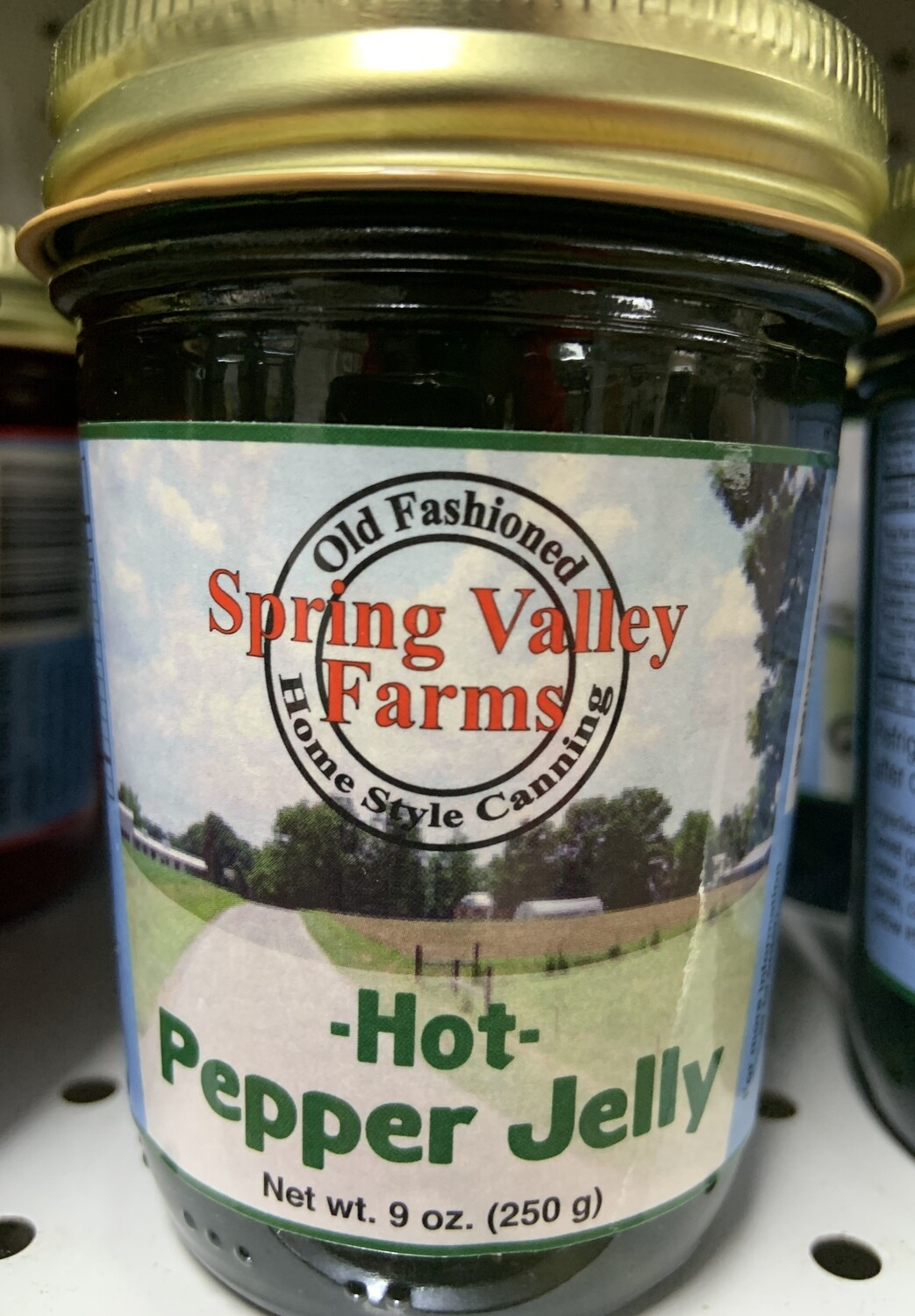 Spring Valley Farms Hot Green Pepper Jelly 9oz