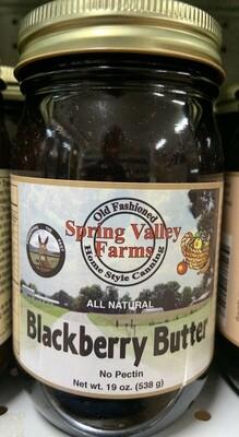Spring Valley Farms Blackberry Butter 19oz