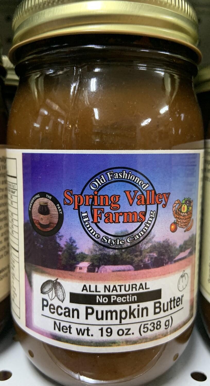 Spring Valley Farms Pecan Pumpkin Butter  19oz