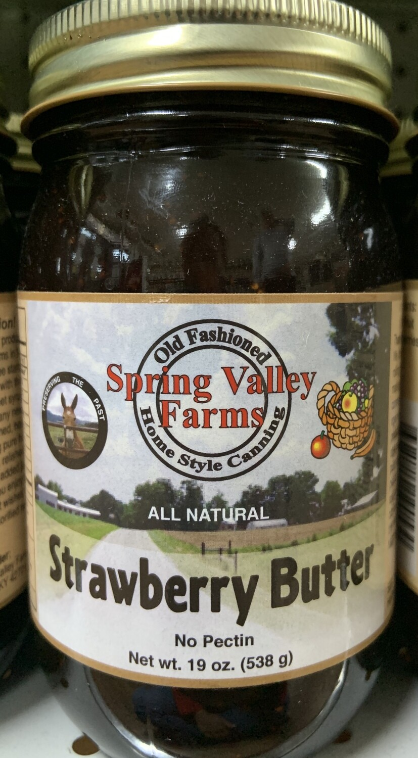 Spring Valley Farms Strawberry Butter 19oz