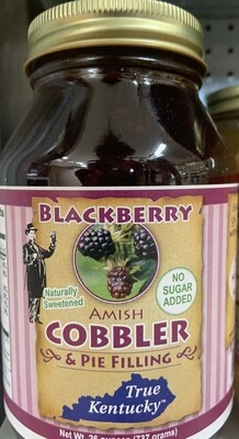 True Ky Blackberry Cobbler & Pie Filling NSA 26oz