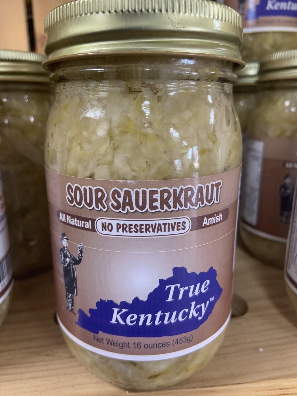 True Ky Sour Sauerkraut 16oz