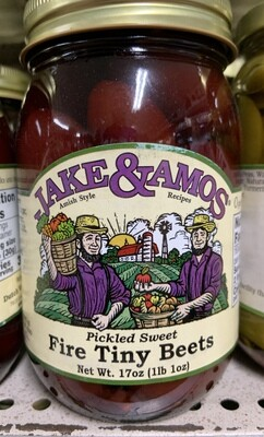 Jake & Amos Pickled Sweet Fire Tiny Beets