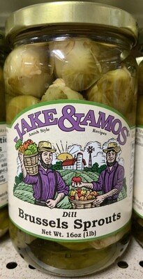 Jake & Amos Dill Brussels Sprouts 16 oz