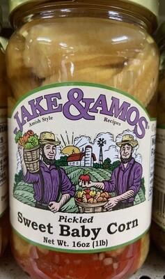 Jake & Amos Sweet Baby Corn 16 oz