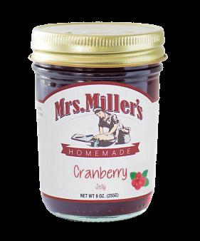 Mrs Miller's Cranberry Jelly 9 oz