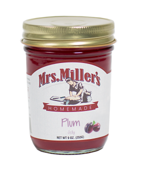 Mrs Miller's Plum Jelly 9 oz