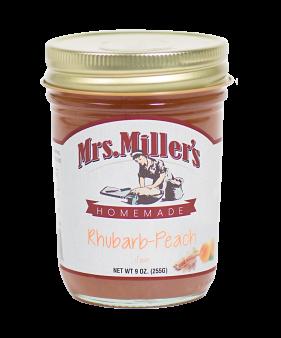 Mrs Miller's Rhubarb-Peach Jam 9 oz