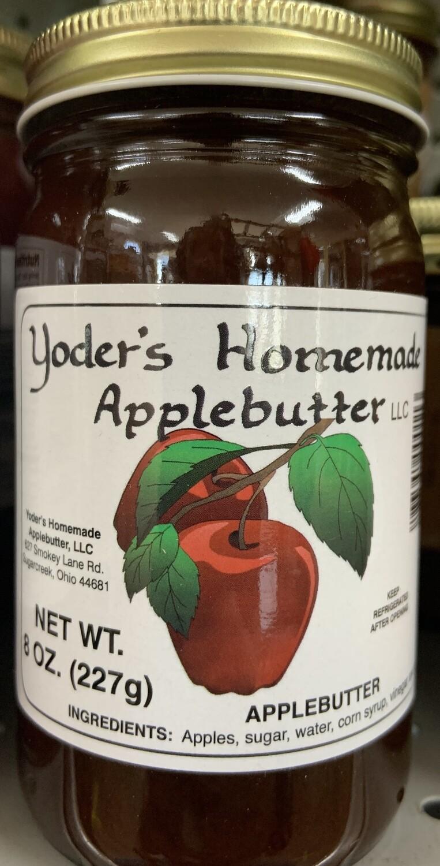 Yoder's Homemade Applebutter 8 oz