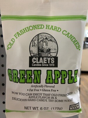 Claey's Green Apple 6 oz
