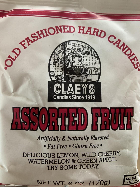 Claey's Asst Fruit 6 oz