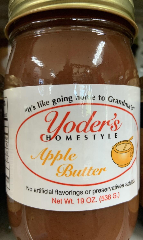Yoder's Apple Butter 19 oz