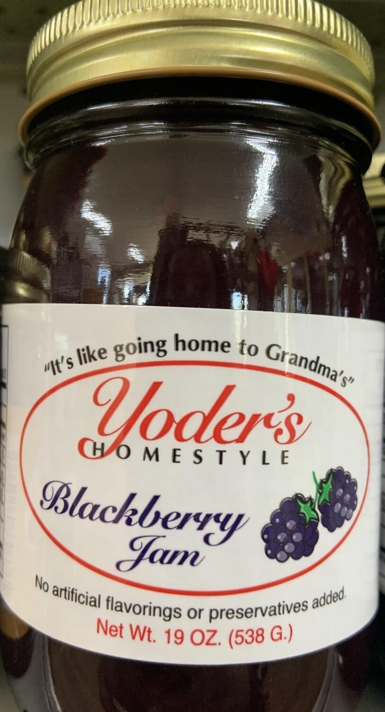 Yoder's Blackberry Jam 19 oz