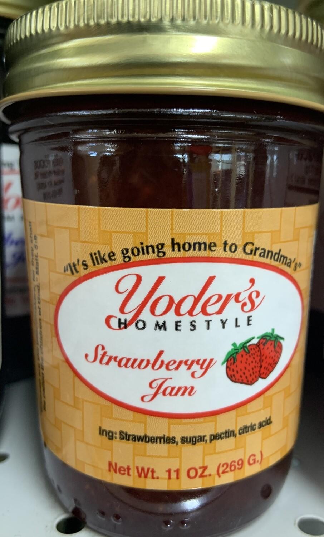 Yoder's Strawberry Jam 11 oz