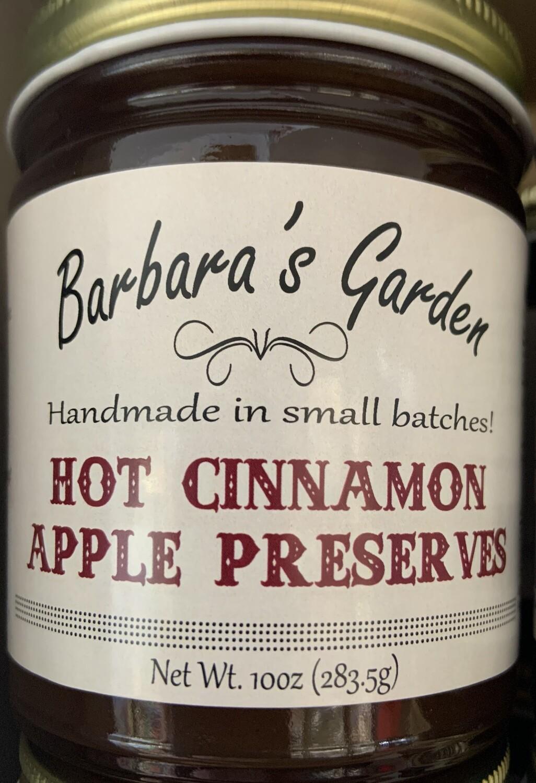 Barbara's Hot Cinnamon Apple Preserves 10 oz