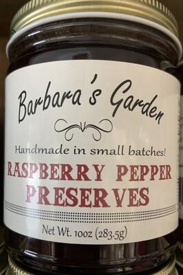 Barbara's Garden Raspberry Pepper Preserves 10 oz