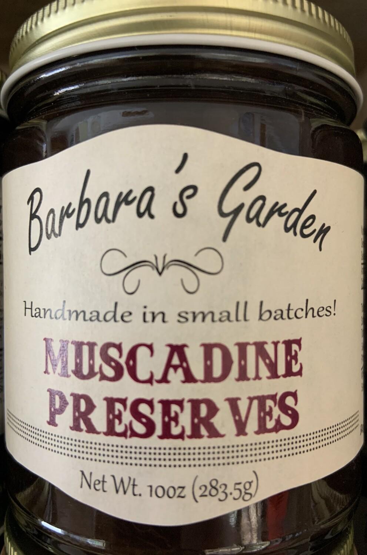 Barbara's Garden Muscadine Preserves 10 oz