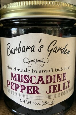 Barbara's Garden Muscadine Pepper Jelly 10 oz