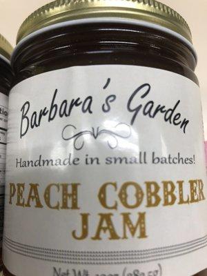 Barbara's Garden Peach Cobbler Jam