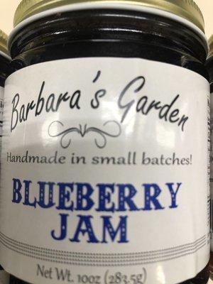 Barbara's Garden Blueberry Jam 10 oz