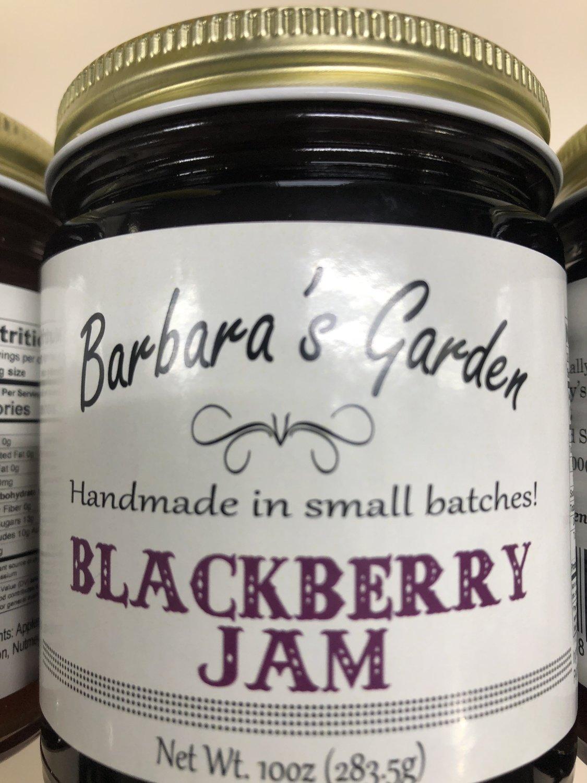 Barbara's Garden Blackberry Jam 10 oz