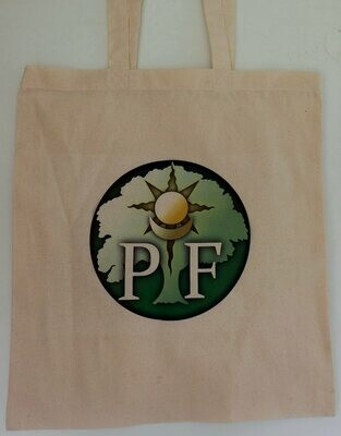 PF Cotton tote bag