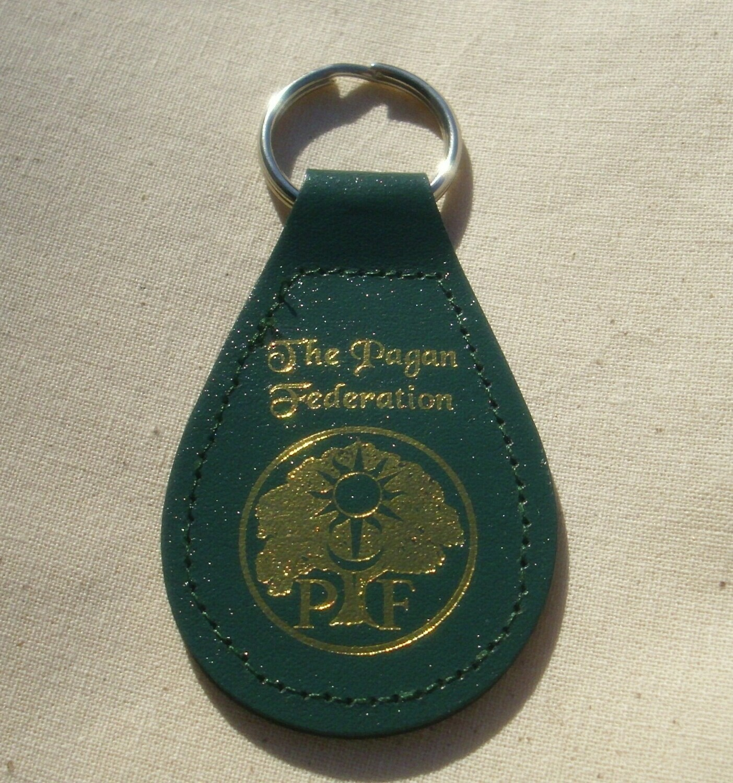 PF Leather Key Fob